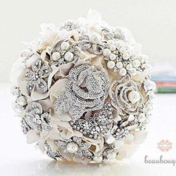 Bukiety z Biżuterii - Kryształki zamiast tradycyjnych kwiatów?   - Apetyczni