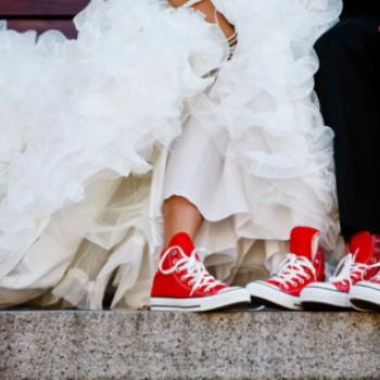 W trampkach do ślubu?  - Apetyczni